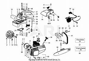 Poulan 1800 Super Gas Saw Parts Diagram For Handles  U0026 Housing