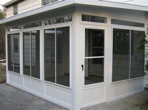 vinyl windows patio enclosure custom built porch enclosures custom built