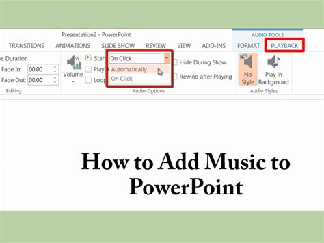 How To Add Music To Powerpoint  4 Easy Steps Wikihow