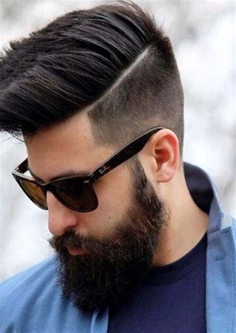 top   undercut hairstyles  men hard part
