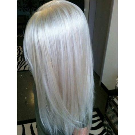 level  lightest blonde platinum platinum hair