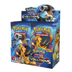 pokemon sealed booster box 36 packs xy evolutions p