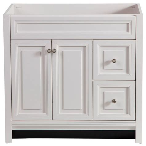 Bathroom Cabinet Doors Home Depot by Home Decorators Collection Brinkhill 36 In W Bath Vanity