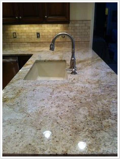 Colonial Gold Granite   Denver Shower Doors & Denver