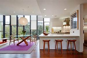 salle a manger design contemporain en 35 idees inspirantes With salle À manger contemporaine avec tarif cuisine aménagée