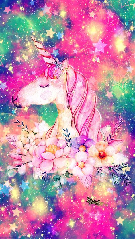 Iphone Home Screen Unicorn Wallpaper by Glitter And Unicorns Wallpapers Top Free Glitter And