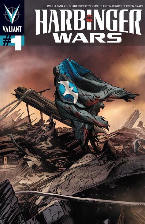 valiant comics preview harbinger wars
