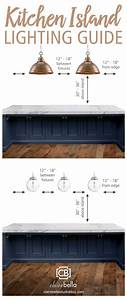 Kitchen island lighting guide how many lights big