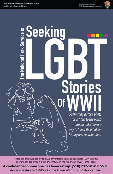 seeking lgbt stories  wwii home front rosie