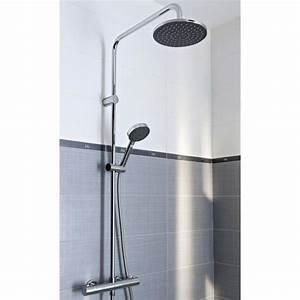 castorama douche italienne verrire atelier deux modles With carrelage adhesif salle de bain avec cabine de douche leda avis