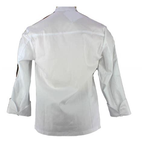 veste de cuisine homme noir blouse de cuisine blanche parement noir lisavet