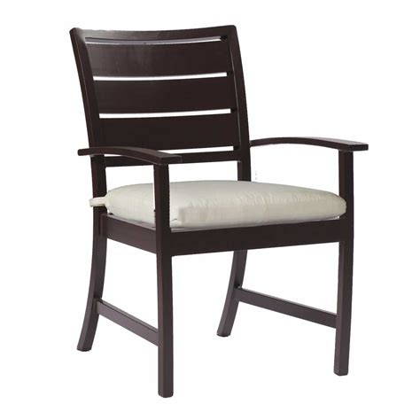 Patio Furniture Chairs by Charleston Arm Chair All Weather Patio Furniture