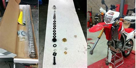 long termer update racetech fork upgrades   honda