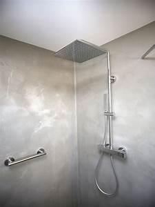 Beton Cire Dusche : sichtbeton fugenlose badezimmer b den und w nde in beton optik lippe salzuflen detmold ~ Sanjose-hotels-ca.com Haus und Dekorationen