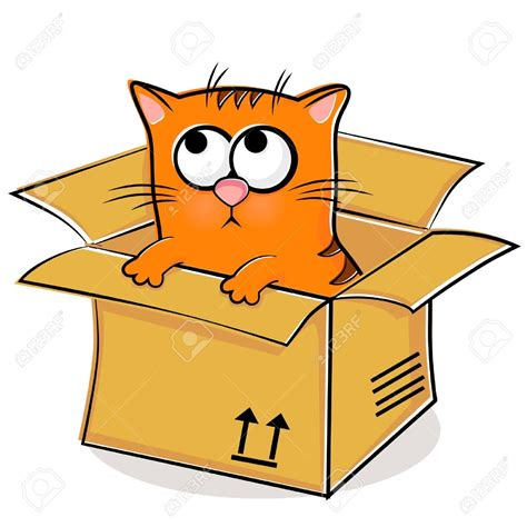 in a box cat in the box clipart clipground