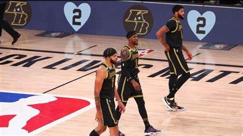 Los Lakers vestirán el uniforme Black Mamba en el Juego 5