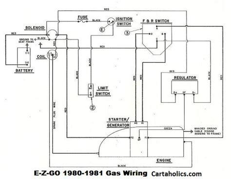 Ezgo Gas Golf Cart Wiring Diagram Cartaholics