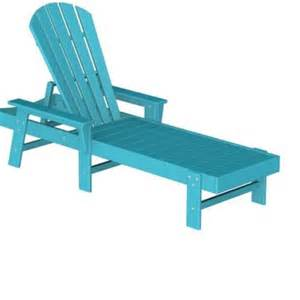 Chaise Longue Plastique by Plastic South Beach Chaise Lounge Fiesta Pwsbc76