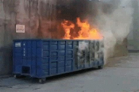 Dumpster Fire Meme - dumpster fire gif dumpster fire know your meme