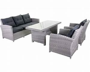 Lounge Set Garten : dining lounge set amaro polyrattan 5 sitzer 4 teilig sand bei hornbach kaufen ~ Yasmunasinghe.com Haus und Dekorationen