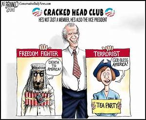 OBAMA CARTOONS: HOW DEMOCRATS SEE FREEDOM FIGHTERS AND ...