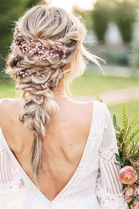 30 Whimsical Wedding Hairstyles With Flowers Flower girl