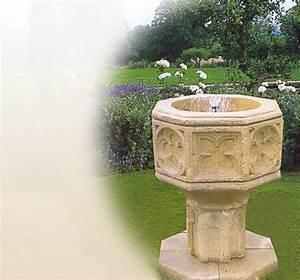 antike standbrunnen garten historische stein With französischer balkon mit vogeltränke sandstein garten