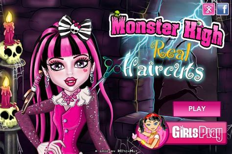 Monster High Real Haircuts Game
