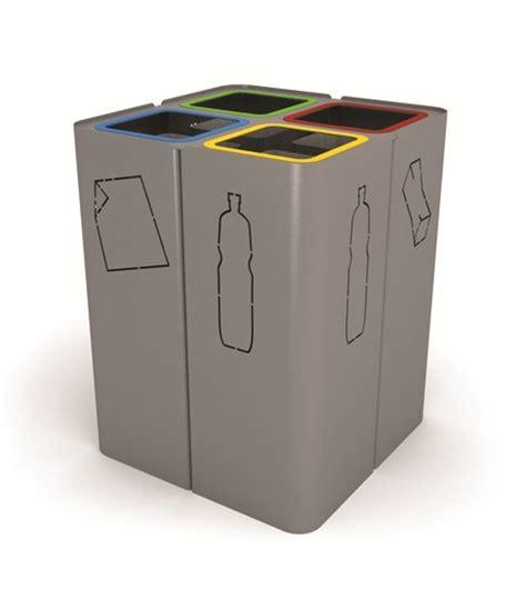 poubelle de bureau tri selectif poubelle en acier de tri sélectif minillero by citysi