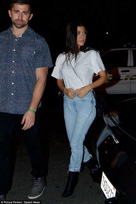 Kourtney Kardashian and Justin Bieber attend LA church ...