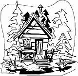 Cabin Log Mountain Clipart Coloring Pages Woods Clip Drawing Helpful Getcolorings Printable Scenic Cliparts Colorings Clipartmag Library Colossal sketch template