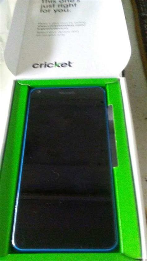 cricket microsoft lumia 640 windows prepaid phone only used for 2 months in l for sale in