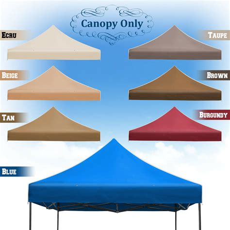 ez pop  replacement canopy instant gazebo tent polyester cover ebay