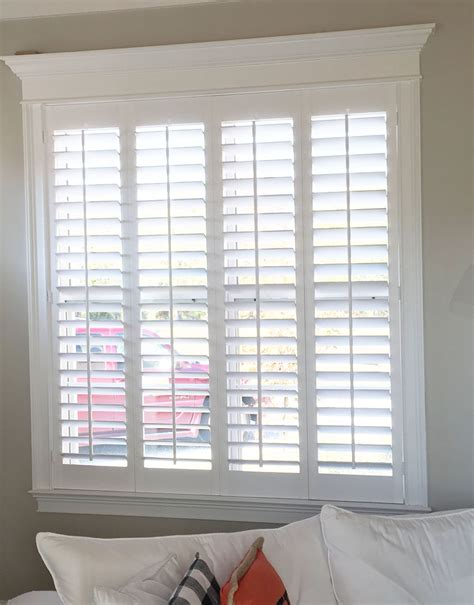 Custom Blinds And Shutters by Simple And Plantation Shutters Are The