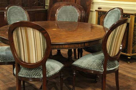 extra large round dining table extra large 64 88 inch round dining table with perimeter