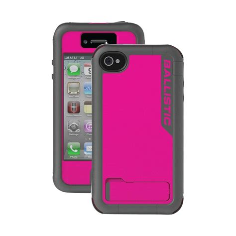 cell phone accessories ballistic cases 174 ex0891 a01c raspberry pink charcoal