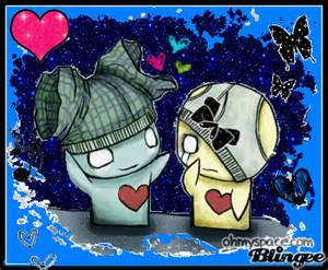 Cute Emo Anime Love Drawings