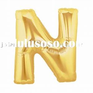 letter foil balloons letter foil balloons manufacturers With custom letter balloons