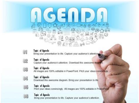 business consulting write  agenda   meeting
