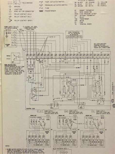 Weathertron Baystat 240 Wiring Diagram by I Am Replacing An Mercury Trane Weathertron Baystat