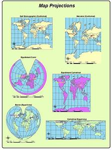 James Antisdel  Geography 7 Blog  Lab 5  Map Projections