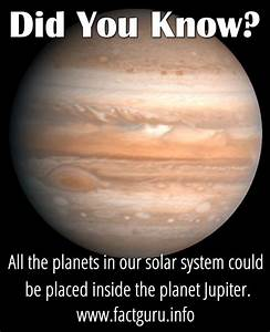 All the planets in our solar system could be placed inside ...