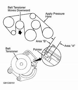 2002 Lexus Rx 300 Serpentine Belt Routing And Timing Belt