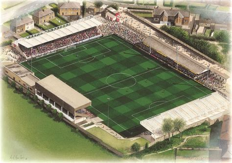 Mccain Stadium - Scarborough Painting by Kevin Fletcher
