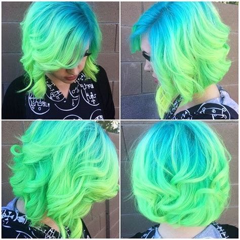 Blue Green Hair Pictures Photos And Images For Facebook