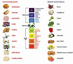Alkaline Foods VS Acid Forming Foods - Nourishing Plot