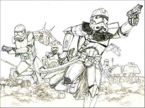 Star Wars Drawings - Drawing Star Wars - Joshua Nava Arts
