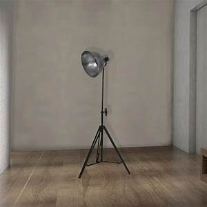 silver tripod floor lamp cl 33997 e2 contract lighting uk With silver camera floor lamp