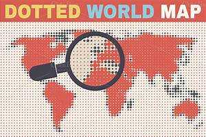 Dotted World Map ~ Illustrations on Creative Market