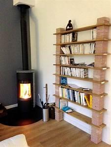 Comment Faire Un Bureau Soi Meme : bibliotheque murale a faire soi meme 7 avec fabriquer un meuble bureau avec biblioth que mikea ~ Melissatoandfro.com Idées de Décoration